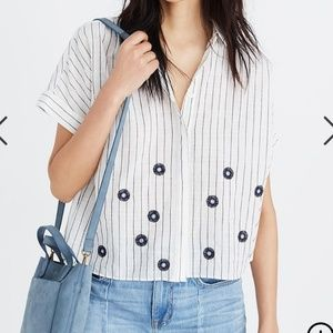 Madewell Embroidered Hilltop Shirt